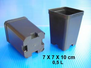 Pots 7 X 7 X 10 cm